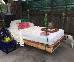 pallet swing, diy pallet swing, and pallet swing bed image