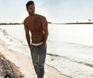abs, beach, and handsome image