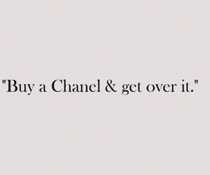 quotes, chanel, and life image