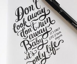 inspiration, motivation, and lettering image