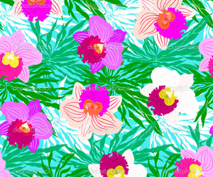 design, flowers, and pattern image