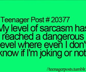 sarcasm, teenager post, and funny image