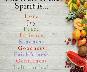 believe, fruit, and inspirational image