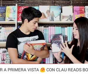 video, booktubers, and clau reads books image