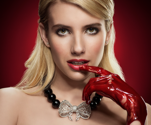 blonde, girl, and blood image