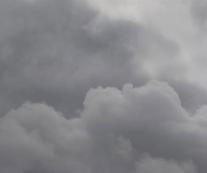 clouds, sad, and pale image