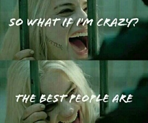 crazy girl, suicide squad, and harley quinn image