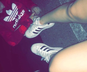 adidas, artsy, and best friends image