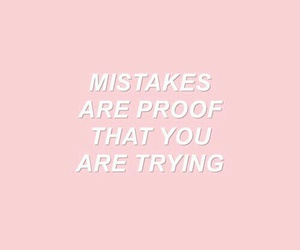 quote and pink image
