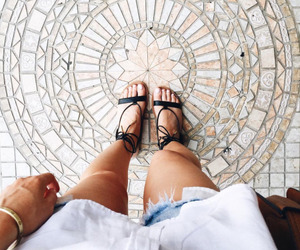 indie, shoes, and summer image