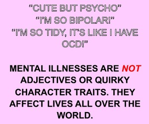 important and mental illness image