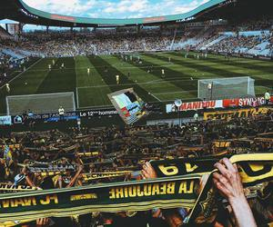 beautiful, landscape, and football image