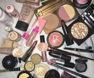 girls, goals, and makeup image