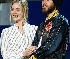jared leto, margot robbie, and harley quinn image