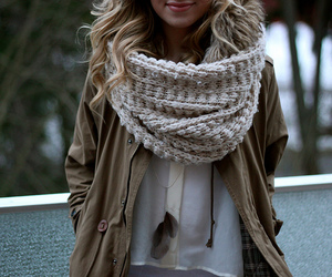 feather, necklace, and winter time ♡ image