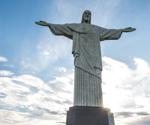 rio, statue, and travel image