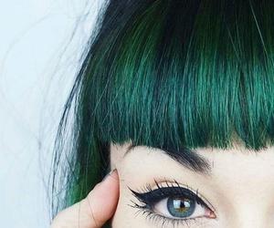 art, eyeliner, and eyes image