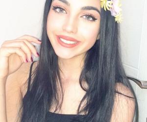 beautiful, girl, and smile image