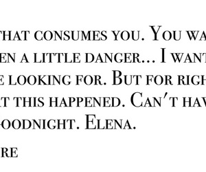 couple, elena, and quotes image