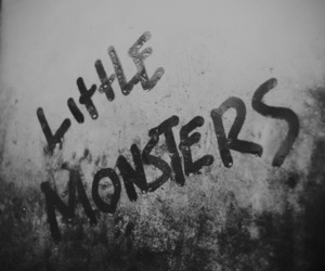little monsters, Lady gaga, and monster image