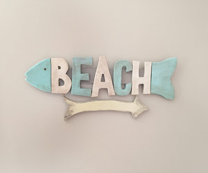 etsy, beach sign, and beach living image