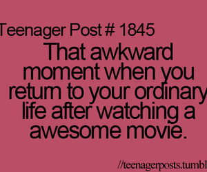 teenager post, movie, and quote image