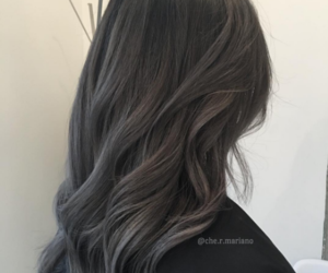 granny, gray, and hairstyle image