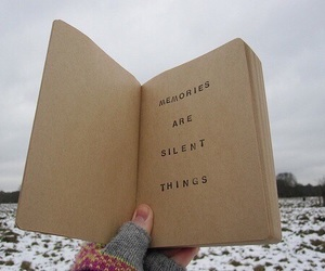 book, memories, and quote image