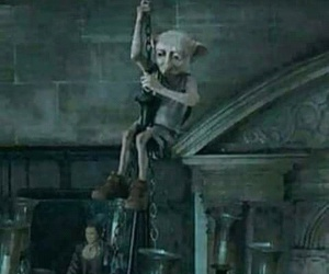 harry potter, dobby, and miley cyrus image