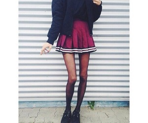 girl, anorexia, and legs image