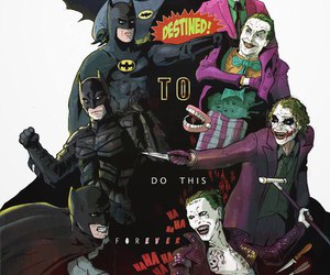 batman, jared leto, and the joker image