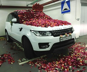 car, goals, and range rover image