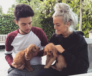 one direction, lottie, and louis tomlinson image
