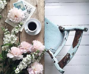 flowers and coffee image