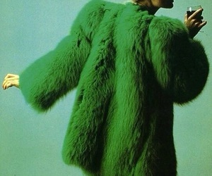 green and fur image