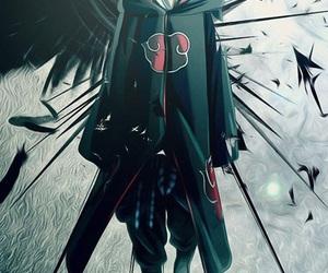 sasuke, naruto, and akatsuki image