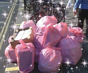 trash, aesthetic, and pink image