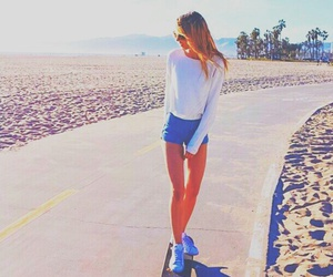 fashion, skate, and summer image