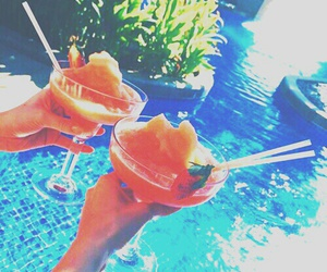 summer, drinks, and food image
