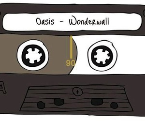 oasis, wonderwall, and music image
