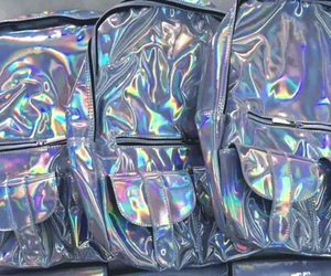 aesthetic, holographic, and iridescent image
