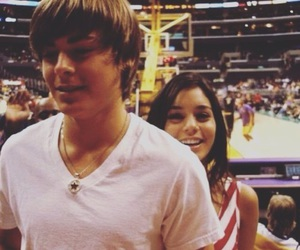 high school musical, zac efron, and zanessa image