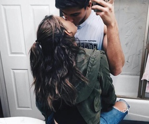 boy, couple, and cutie image