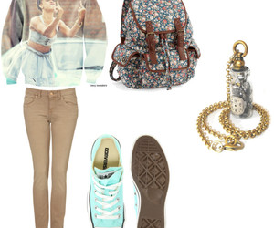Polyvore, converse, and Rhianna image