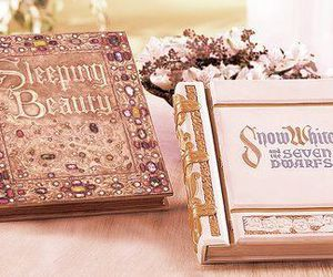 book, sleeping beauty, and snow white image