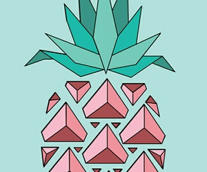 wallpaper, pineapple, and background image