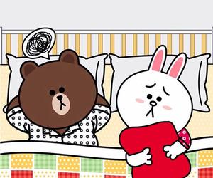 bear, bunny, and brown image