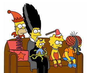 bart, Halloween, and homer image