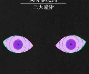 rinnegan, anime, and naruto image