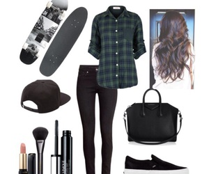 black jeans, cap, and fashion image